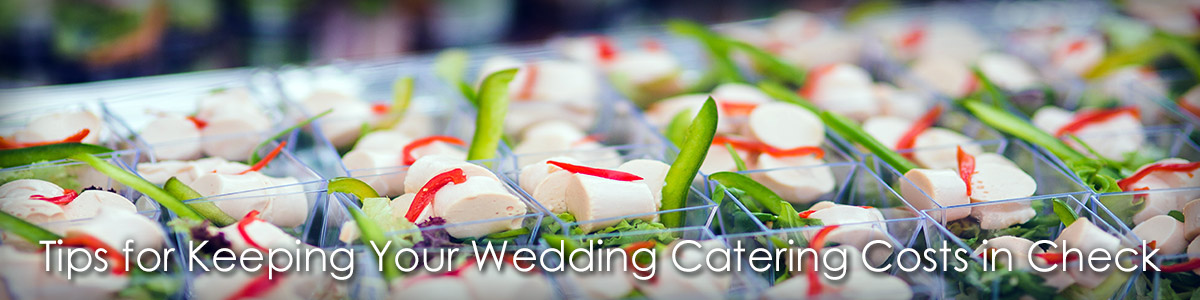 Tips for Keeping Your Wedding Catering Costs in Check image