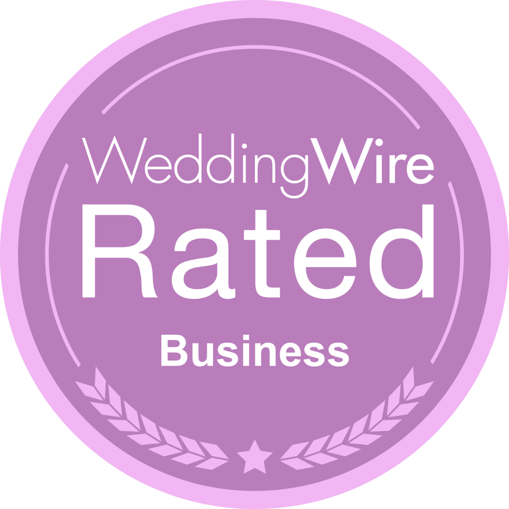 Wedding Wire Rated Business Badge image