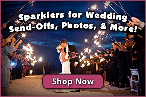 Sparklers for Weddings image