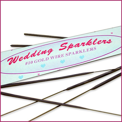 10 Inch Sparklers for Weddings image