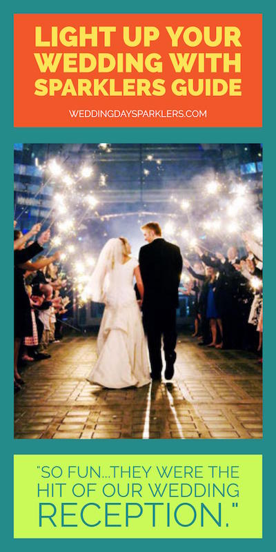 Dependable Service And High Quality Wedding Sparklers