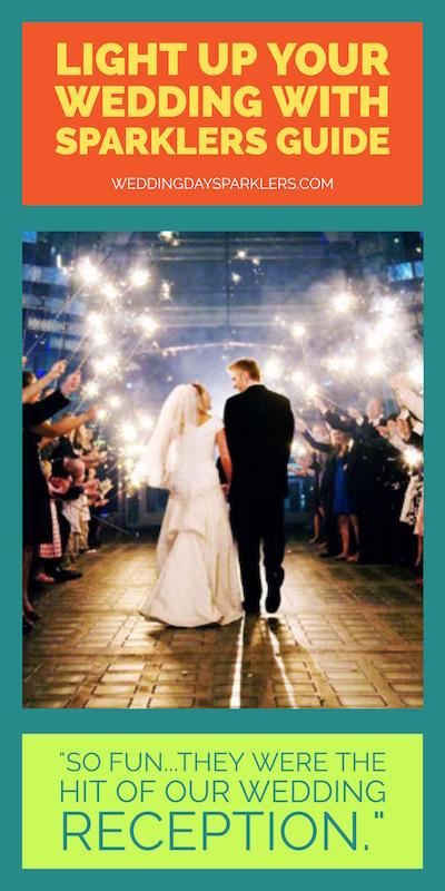 best wedding sparklers image