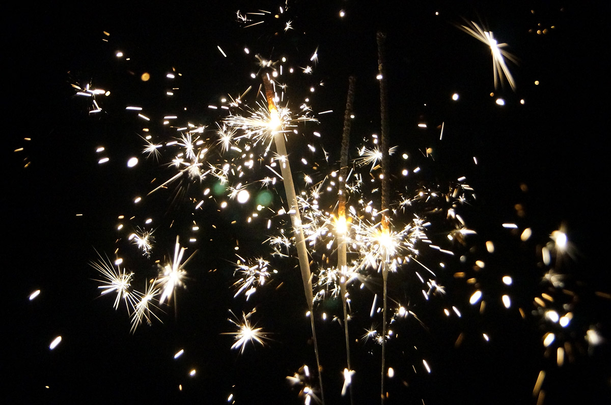 10 Inch Wedding Sparklers | Top Rated, Smokeless and a Great Value
