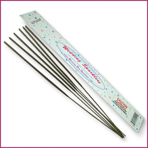 Image of 20 Inch Sparklers for Weddings Packaging