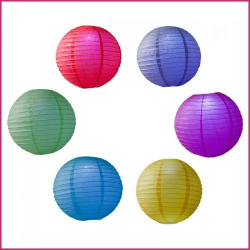 Color LED Party Lanterns