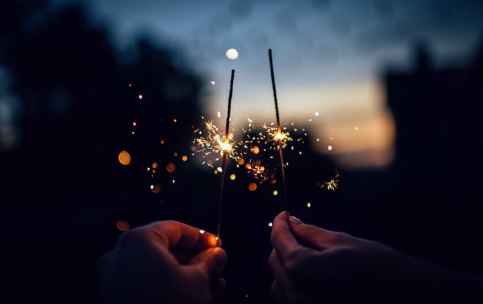 Use 10 Inch Sparklers at your Wedding image