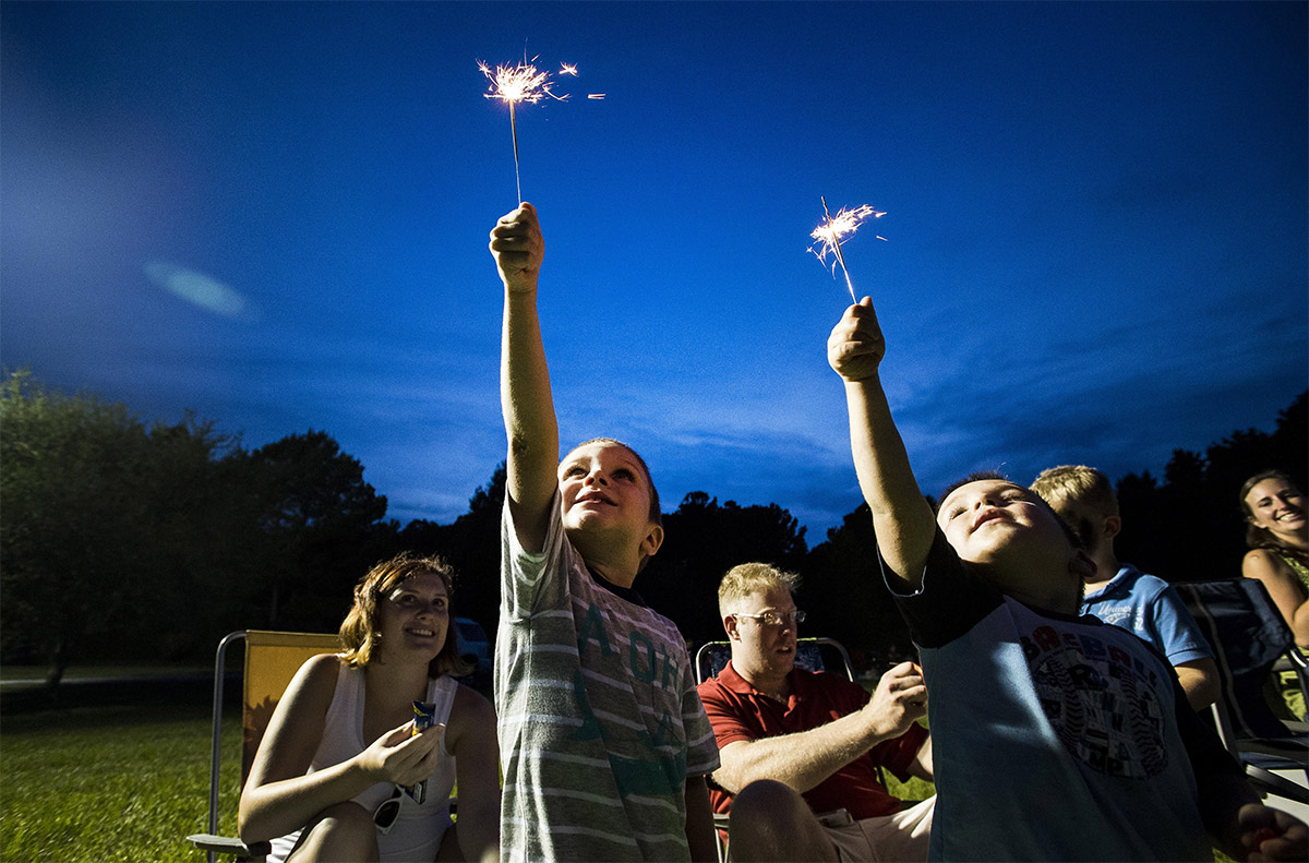 How Do You Use A Sparkler Safely Using Sparklers At Events