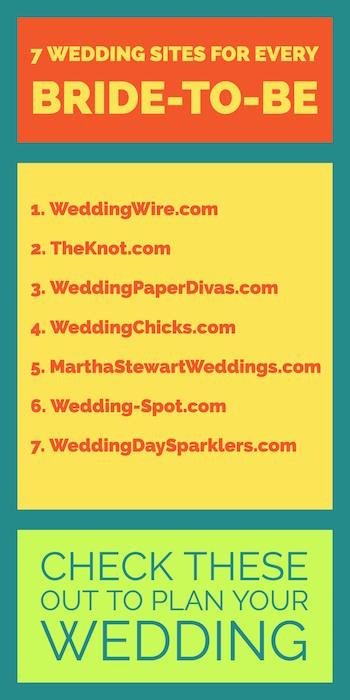7 Wedding Websites