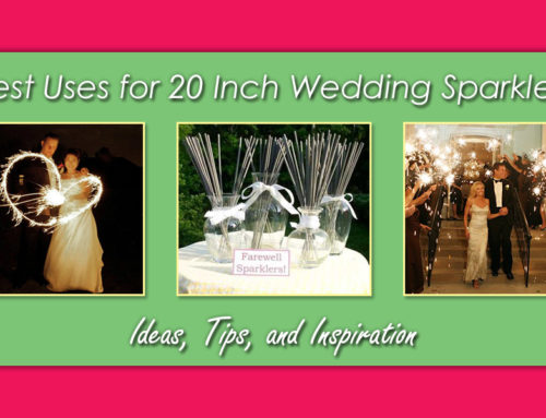 Best Uses for 20 Inch Wedding Sparklers