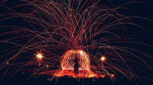 Using Photoshop to Create Wedding Sparkler Photos image