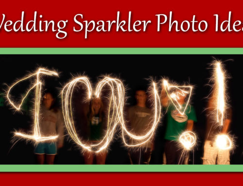 Ideas for Capturing Great Wedding Sparkler Photos