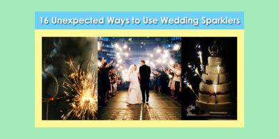 16 Ways to Use Wedding Sparklers image