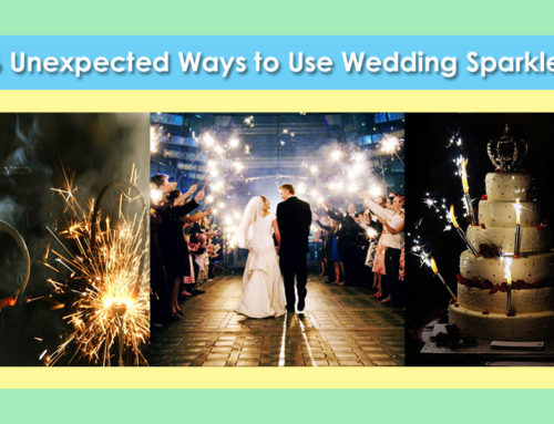 16 Unexpected Ways to Use Wedding Sparklers