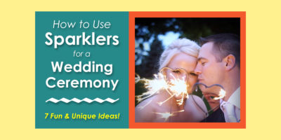 Using Our Products During a Wedding Ceremony image