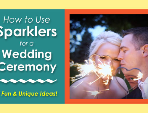 7 Ways to Use Sparklers at a Wedding Ceremony