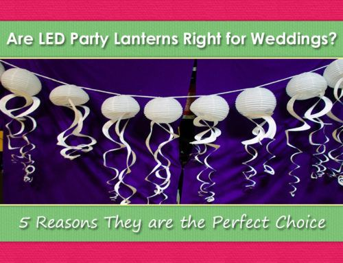 5 Reasons to Use LED Party Lanterns for Weddings