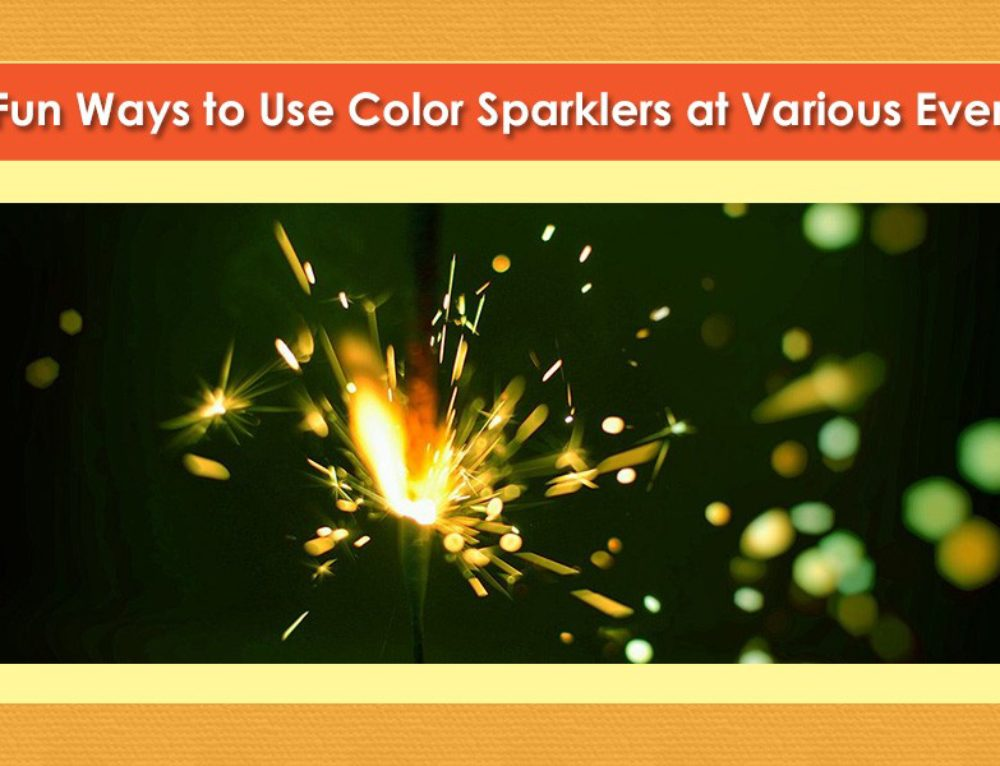 The Many Uses for Color Sparklers