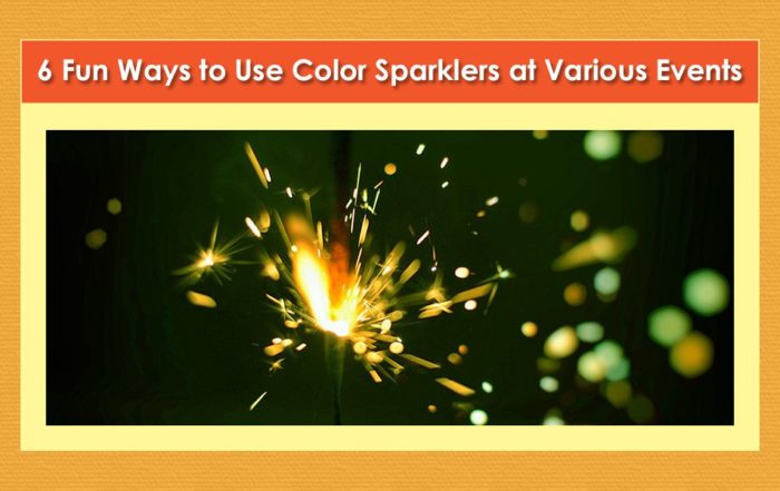 Uses for Color Sparklers image