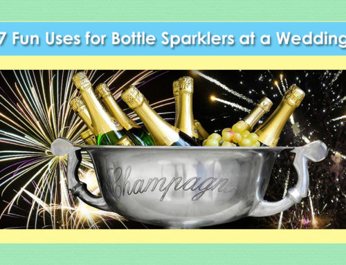 Best Uses for Bottle Sparklers at a Wedding