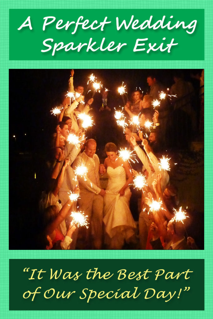 A Perfect Wedding Sparkler Exit image