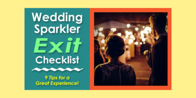 A Wedding Exit Checklist image