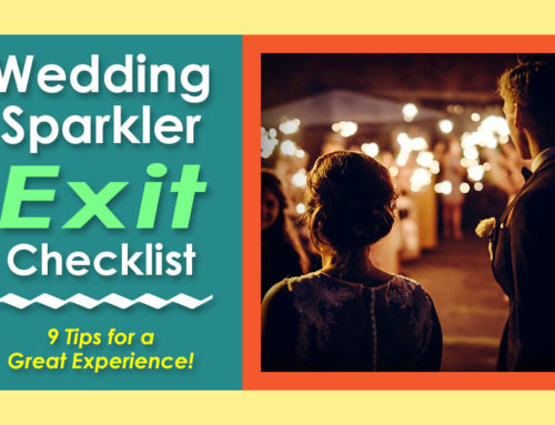 The Ultimate Wedding Sparkler Exit Checklist