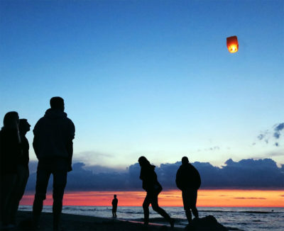 Single Sky Lantern Released image