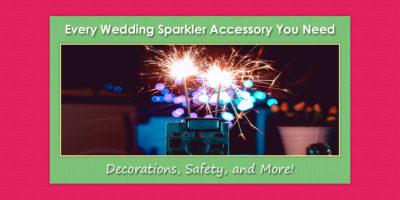Wedding Sparkler Accessories image