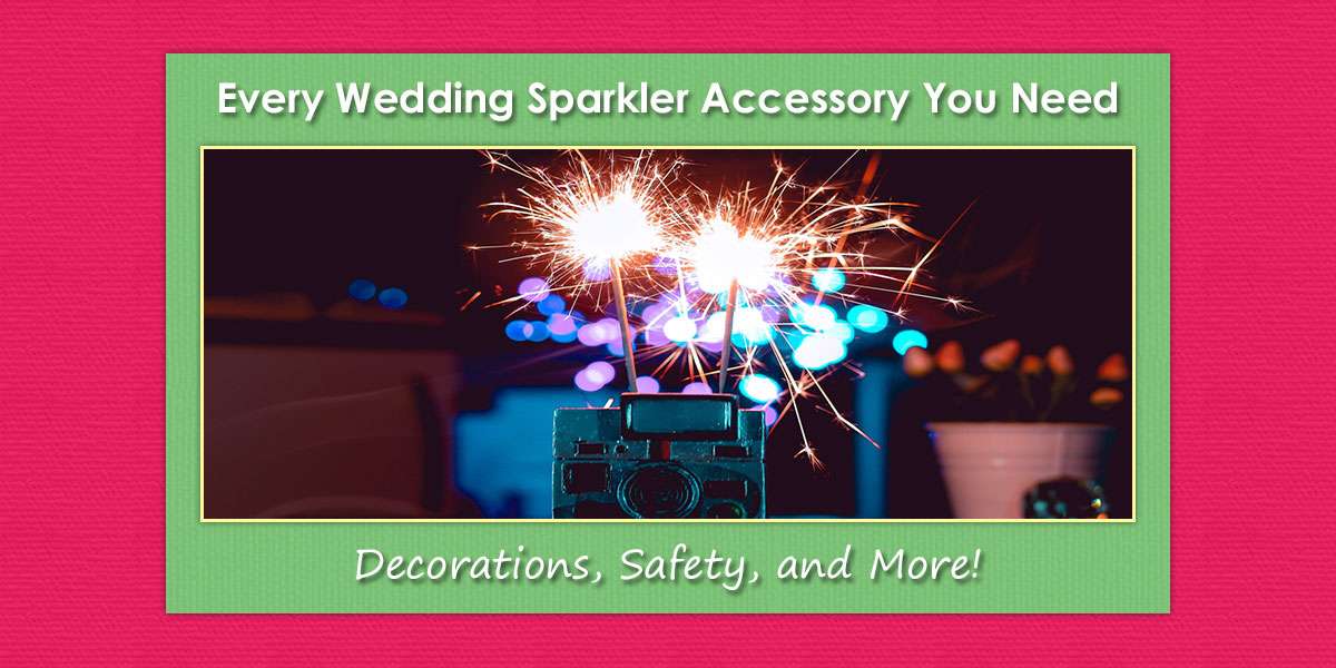 Wedding Sparkler Accessories image