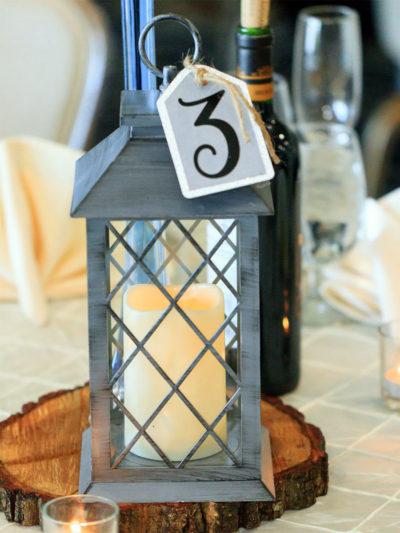 Candlelit Lanterns as Centerpieces image