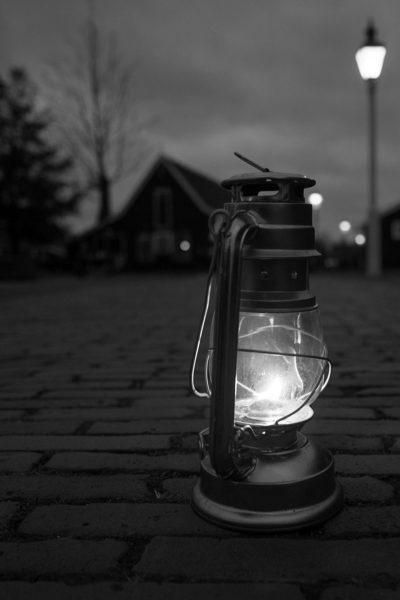 Gas Lanterns at a Wedding image