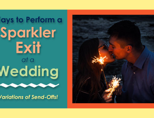 Different Ways to Perform a Sparkler Exit at a Wedding