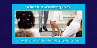 What Is a Wedding Exit image