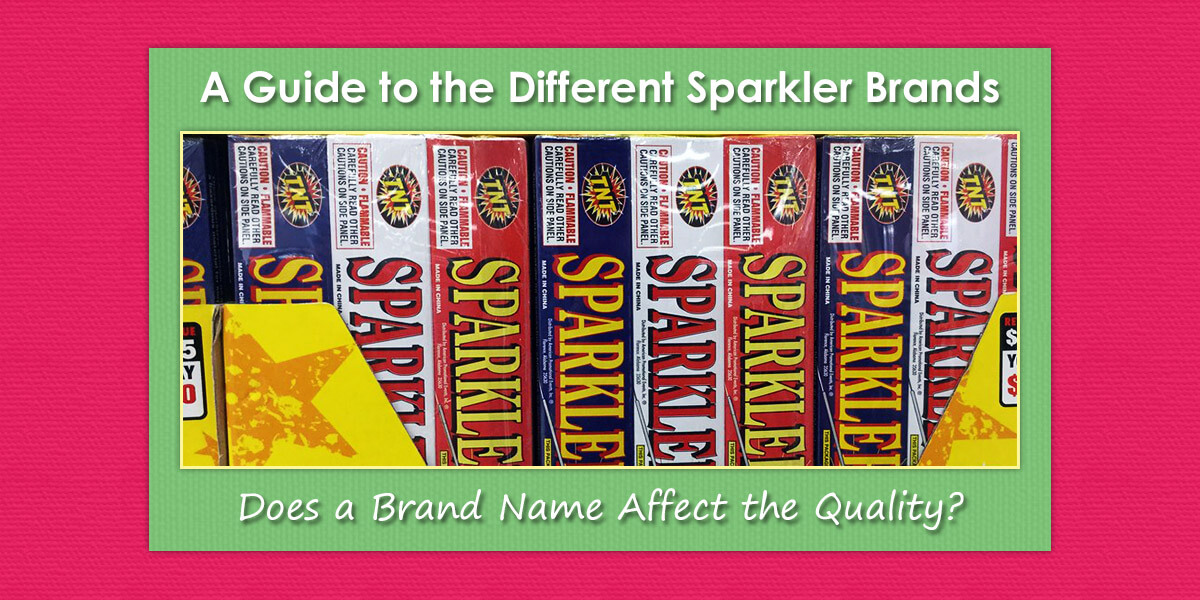 A Guide to the Different Sparkler Brands image