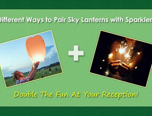 Ways to Pair Sky Lanterns with Sparklers