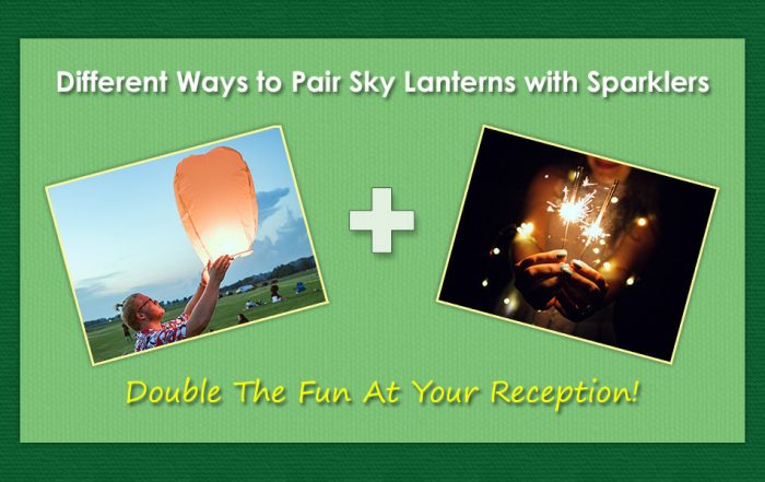 Ways to Pair Sky Lanterns with Sparklers image