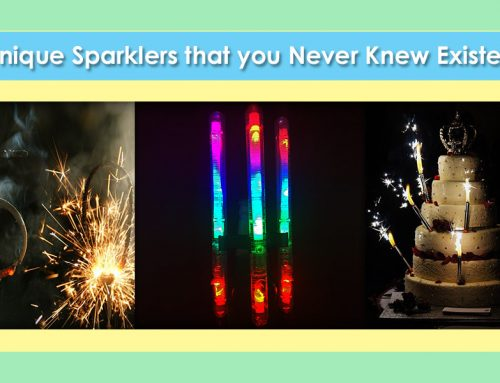 Unique Sparklers that you Never Knew Existed