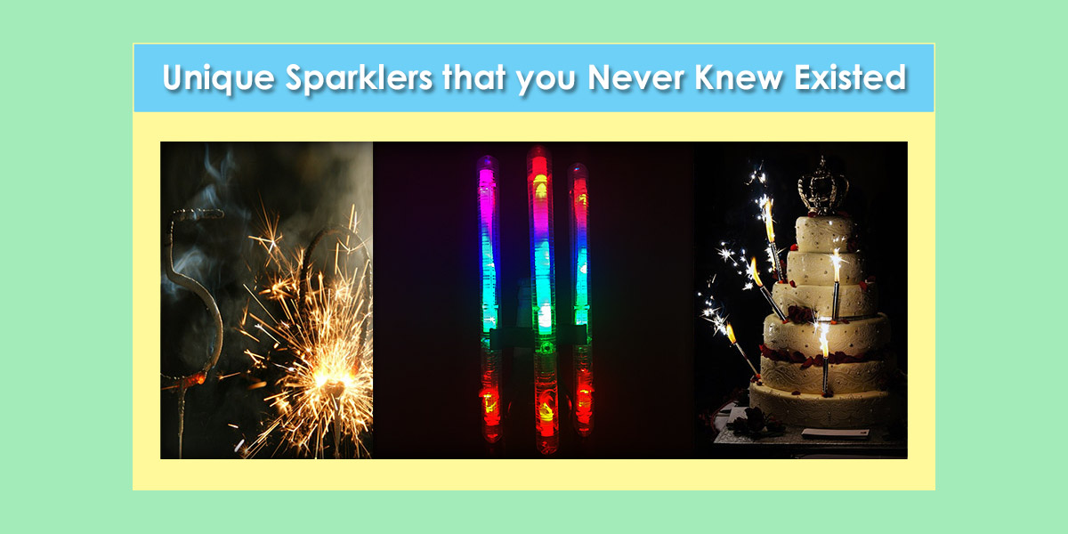 Image of Unique Sparklers that you Never Knew Existed