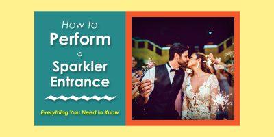 How to Perform a Wedding Sparkler Entrance image