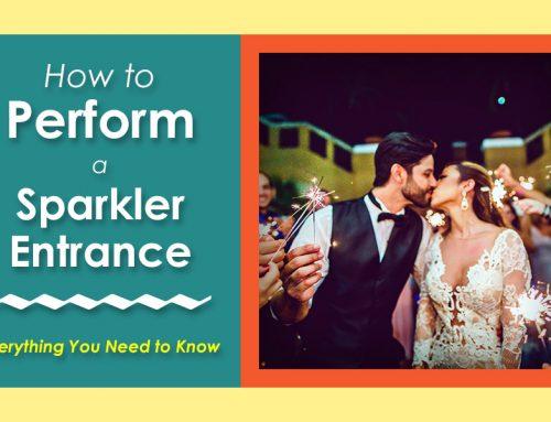 How to Perform a Wedding Sparkler Entrance