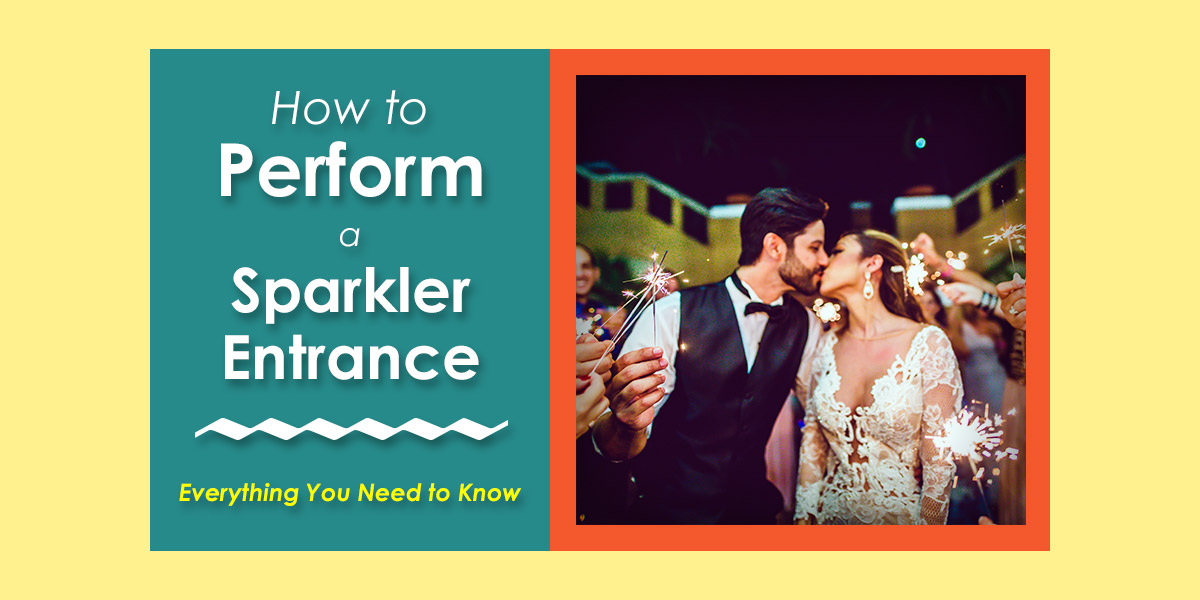 How to Perform a Wedding Sparkler Entrance image