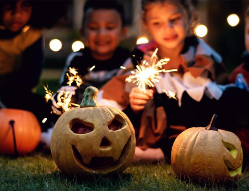 Halloween Sparklers and Jack-O-Lanterns: A Thousand Words #3