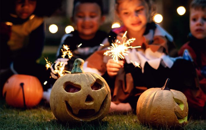 Halloween Sparklers and Jack-O-Lanterns: A Thousand Words #3 image