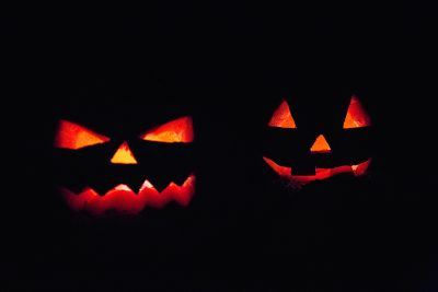 Image of Jack-O-Lanterns on Halloween