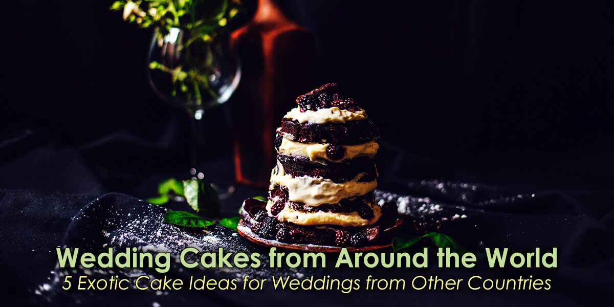 Wedding Cakes from Around the World image