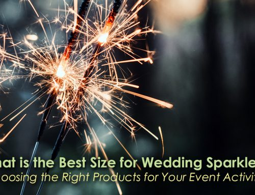 What is the Best Size for Wedding Sparklers?
