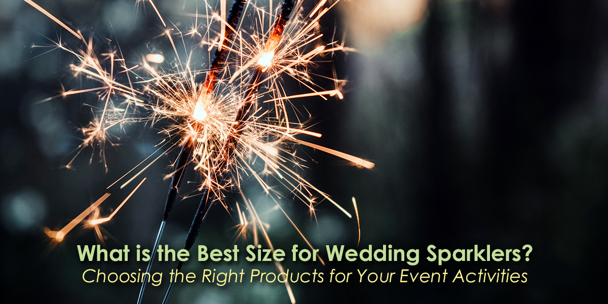 What is the Best Size for Wedding Sparklers image