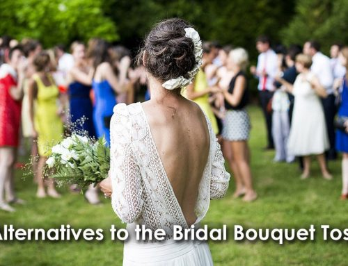 Alternatives to the Bridal Bouquet Toss