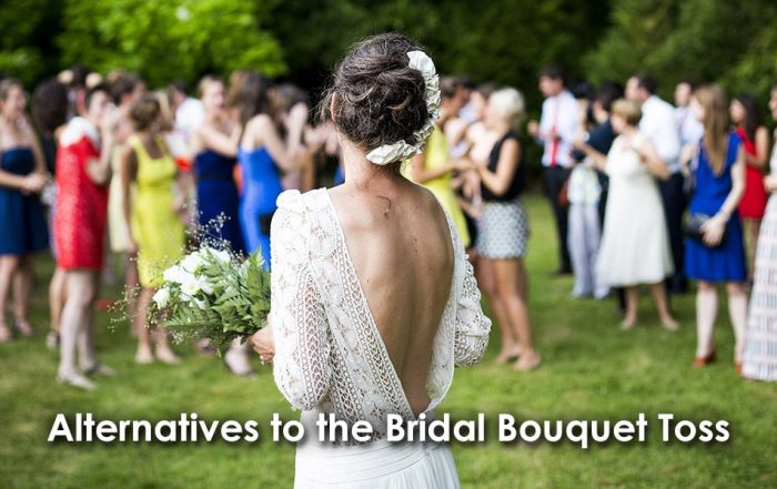 Alternatives to the Bridal Bouquet Toss image