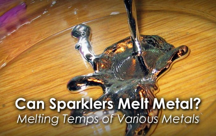 Can Sparklers Melt Metal image